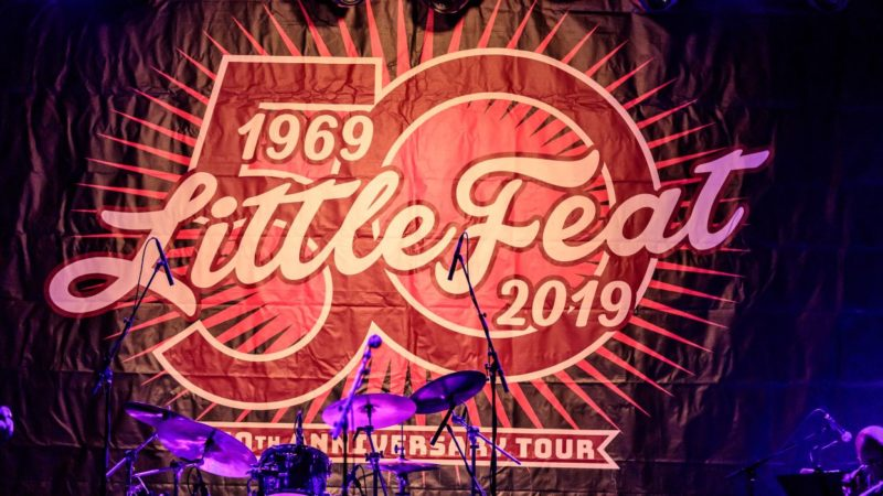 Little Feat 50th Anniversary Tour 2019 Backdrop